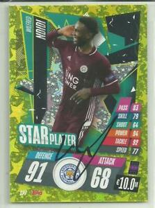 Wilfred Ndidi - LEICESTER CITY - Signed FOIL Match Attax Card