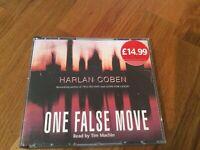 One False Move by Harlan Coben (6 CD Audiobook)