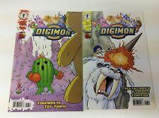 DIGIMON DIGITAL MONSTERS #6-7 (DARK HORSE/FOX TV/061850) COMPLETE SET LOT OF 2