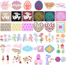 Metal the stencil cutting this Diy Scrapbooking Card Diary stanzschablone