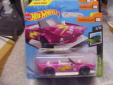 Hot Wheels RARE Short Card Speed Blur Track Manga