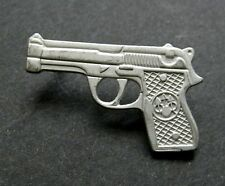 COLT 45 REVOLVER 1911 GUN LAPEL PIN BADGE APPROX 1 INCH