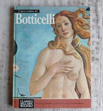 L'opera completa di Botticelli - Classici dell'arte Rizzoli