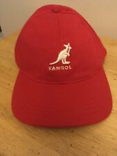 Kangol Flexfit Red Baseball Cap Size S/M Style #8864 CA NWT Polyester/Cotton