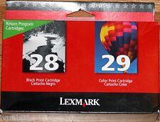 LEXMARK 28 29 INK CARTRIDGES 18C1590