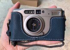 Funper Genuine Leather Half Case For Contax TVS Camera Protector