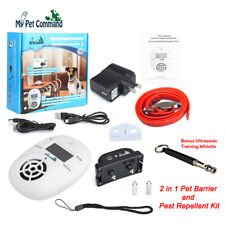 My Pet Command Indoor safe hidden Wireless Electric Fence Barrier Dogs Cat Repel