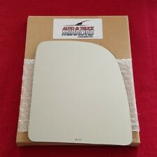Mirror Glass + Adhesive For Ford F-250, F-350, E-250, E-250 Passenger Side-Upper
