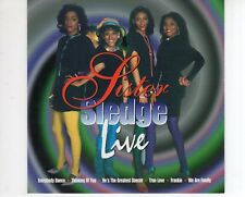 CD SISTER SLEDGE	live	EX+ (A2241)