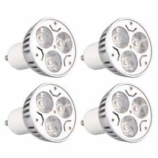4 Stueck GU10 3W 3LEDs Dimmbar Warmweiss HIGH POWER LED Strahler Spotlicht  I5W1