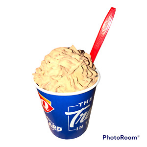Fake Food Display Prop Frozen Whipped Chocolate  Ice Cream  Blizzard