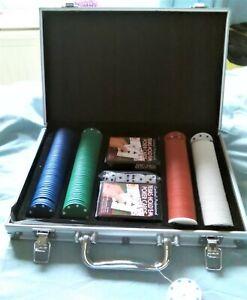 Poker Set & Aluminium Case Texas Hold Em