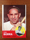 1963 Topps Yogi Berra #340. New York Yankees vintage baseball card