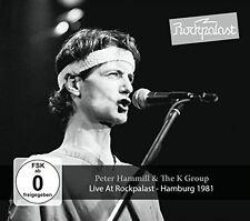 PETER & THE K GROUP HAMMILL - LIVE AT ROCKPALAST HAMBURG 1981 2 CD+DVD NEU
