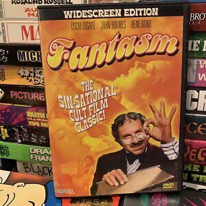Fantasm AKA World of Sexual Fantasy DVD 1976 Sex Comedy! RENE BOND Uschi Digard!