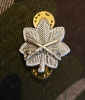 Cavalry Lt Colonel Rank Officer Insignia Military Badge Hat Cap Pin US Army SLVR