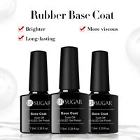 UR SUGAR 7.5ml Rubber Base Coat Gellack Soak Off Nagel Kunst Gel Polish Maniküre