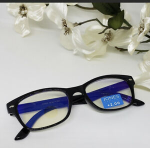 Jones New York Blue Light filtering Glasses- Black