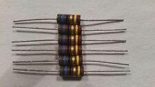 NOS 56 OHM  2 watt 5% Carbon Comp Resistor LOT OF 6