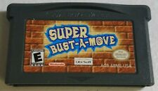 Super Bust a Move Original Nintendo Gameboy ADVANCE GBA Clean Tested AUTH 1