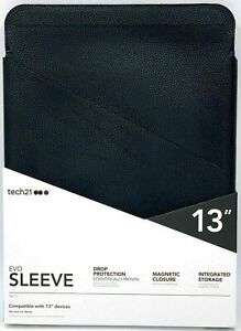 "tech21 Evo Sleeve 13"" Universal Tablet Case Cover - Vegan Leather - FlexShock"