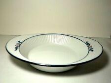 """Dansk Bistro Maribo Au Gratin Bake Serve DIsh Japan EXCELLENT White Blue 10.5"""""""