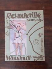 More details for vintage revudeville windmill theatre 7th edition souvenir programme no's 85-91