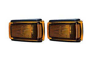 2x TYC Side Marker Lights Amber RIGHT=LEFT Fits VOLVO 740 760 940 S70 V70 81-05