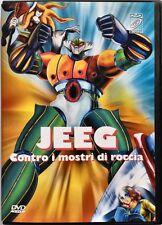 Dvd Jeeg contro i mostri di roccia - Anime Robot Storm video Usato