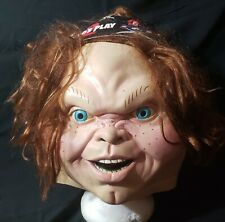 Childs Play 2 ~ CHUCKY Latex Halloween Mask ~ Trick or Treat Studios **NWT**