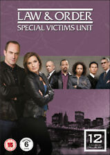 Law and Order - Special Victims Unit: Season 12 DVD (2017) Christopher Meloni