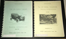 The Leo Pascal Collection featuring Automobiliana  Two Catalogs 1963 & 1964