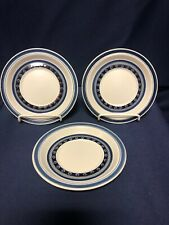 Royal Doulton Tangier set of 3 saucers for flat cups