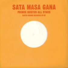 "Prince Buster All Stars - Sata Masa Gana / Dr (Vinyl 10"" - 2016 - EU - Original)"