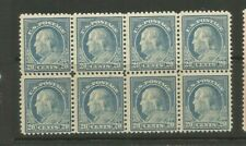 US Stamp Scott #515 Mint  NH  block of 8 VF