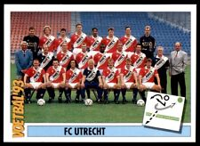 Panini Voetbal '93 (Netherlands) Team FC Utrecht Teams  No. 248