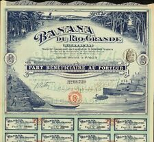 Banana du Rio Grande Nicaragua dd 1913
