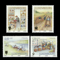 Luxembourg 2012 - Trades of Yesteryears Business Art - Sc B482/5 MNH