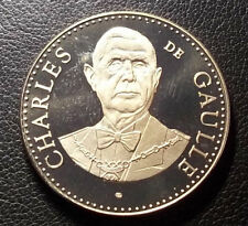 FRANCE CHARLES DE GAULLE - ELYSEE - COMMEMORATIVE MEDAL OF FIFTH REPUBLIC, UNC