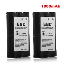 2x 1800mAh 7.2V HNN9018 HNN9018A Battery for Motorola 2-Way Radio SP50 CP50