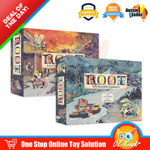 OZ Root Base Game Root The Riverfolk Expansion Adventure and War Board Game