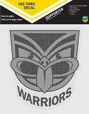 NRL NZ Warriors iTag See-Thru Decal Sticker