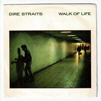 "DIRE STRAITS Knopfler Vinyl 45T 7"" WALK OF LIFE -TWO YOUNG LOVERS -VERTIGO 84397"