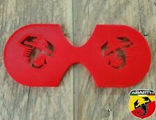 Abarth 595/Fiat 500 Double Scorpion Cup Holder Insert
