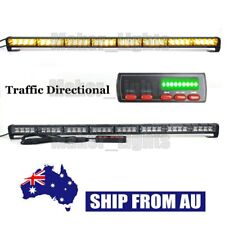 "35"" LED Amber Warning Traffic Advisor Emergency  Flash Vehicle Strobe Light Bar"