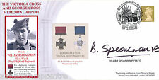 2003 Victoria & George Cross Memorial - Signed by William Speakman-Pitts VC