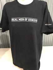 Bud Light Budweiser Real Men Of Genius Beer XL Black T-Shirt