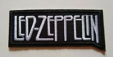"Led Zeppelin~British Rock~Embroidered Applique Patch~4"" x 1 3/4""~Iron~Sew"