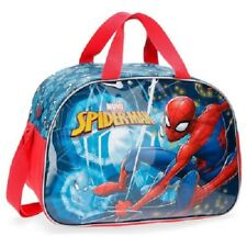BORSA SPORT SPIDERMAN BORSONE PALESTRA PISCINA MARVEL DIMENSIONE MEDIA ROSSO BLU