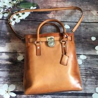 Michael Kors Handbag Fits Laptop Bag BrownReal Leather Cross Body Handle